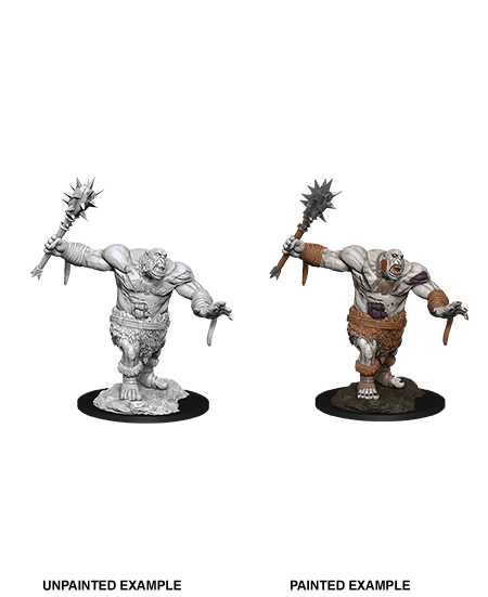 Ogre Zombie: D&D Nolzur's Marvelous Unpainted Miniatures (W12) Wiz Kids LLC, RPG Miniatures Beanie Games