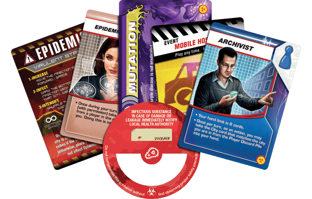 Pandemic: On the Brink Z Man Games, Board Games Beanie Games