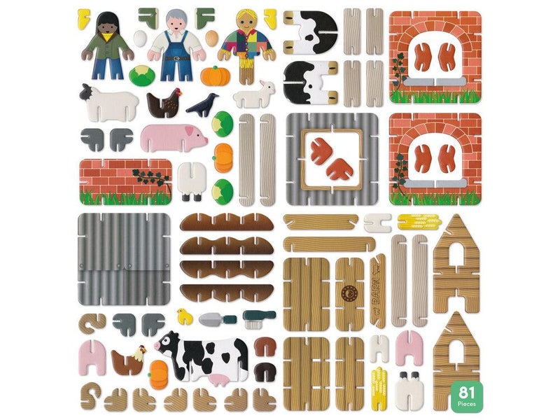 Play Press: Farmyard Playset Play Press, Toys Beanie Games