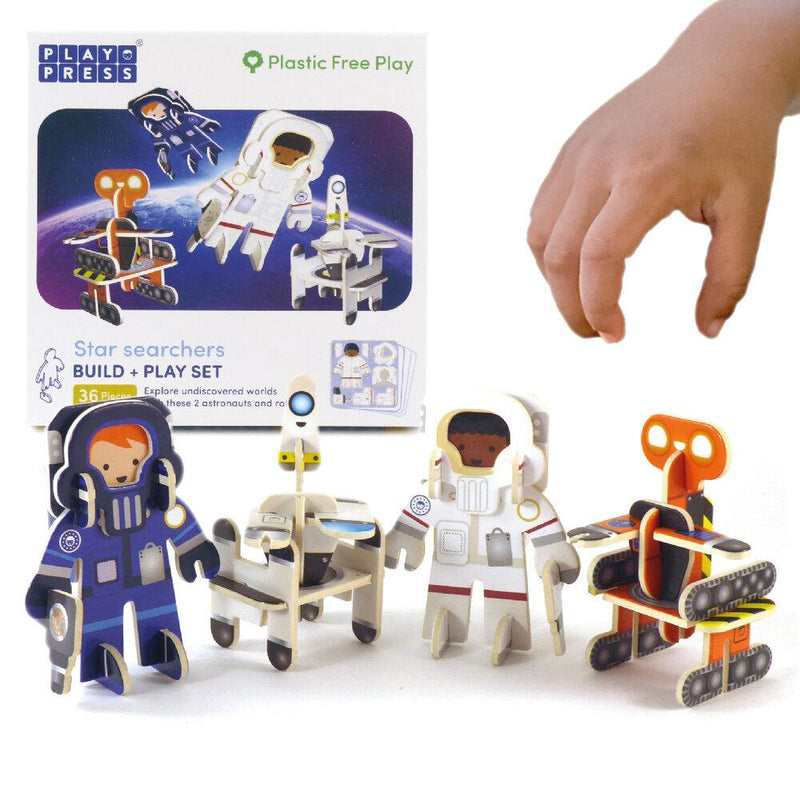 Play Press: Star Searchers Character Set Play Press, Toys Beanie Games