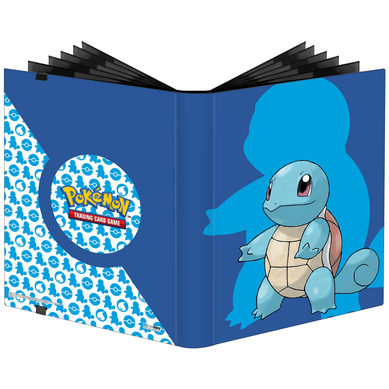 Pokemon Squirtle PRO Binder 9-Pocket Ultra Pro, CCG Accessories Beanie Games