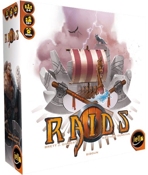 Raids Iello, Board Games Beanie Games