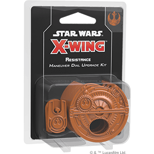 Resistance Maneuver Dial Upgrade Kit Fantasy Flight Games, X-Wing Beanie Games