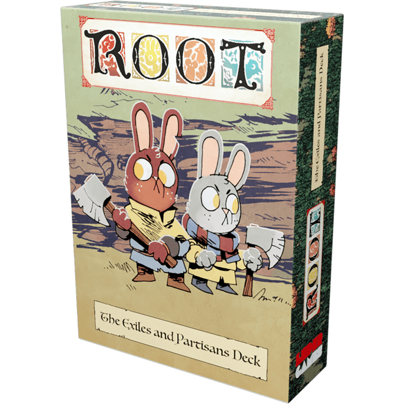 Root: The Exiles And Partisans Deck Leder Games, Board Games Beanie Games