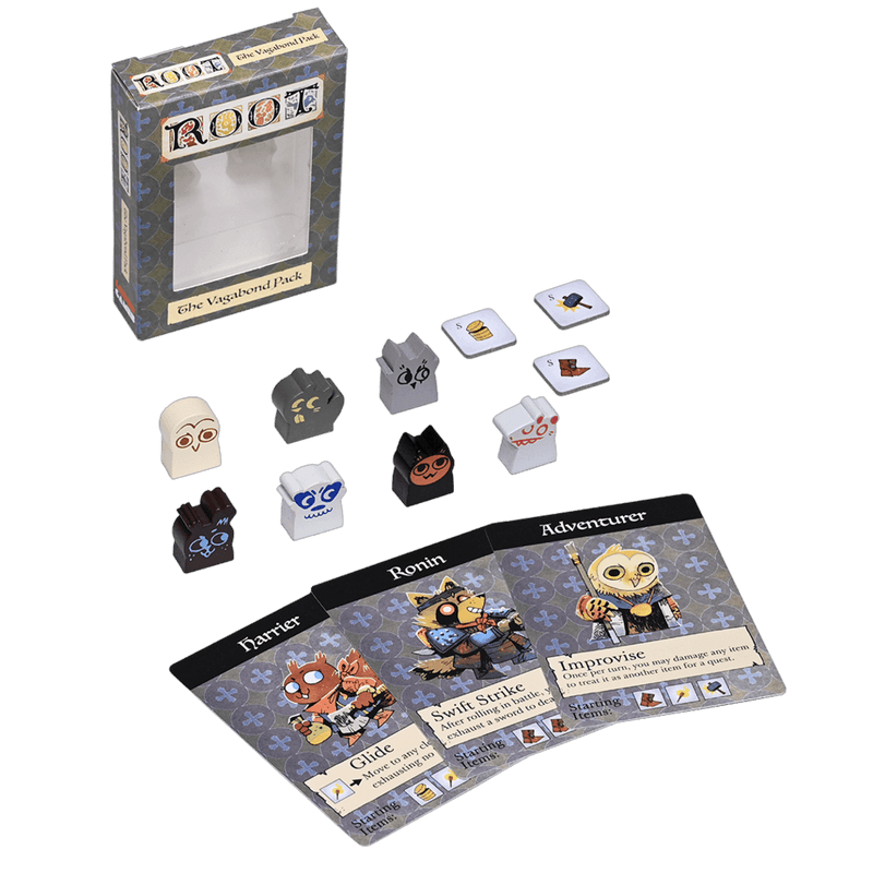 Root: The Vagabond Pack Leder Games, Board Games Beanie Games