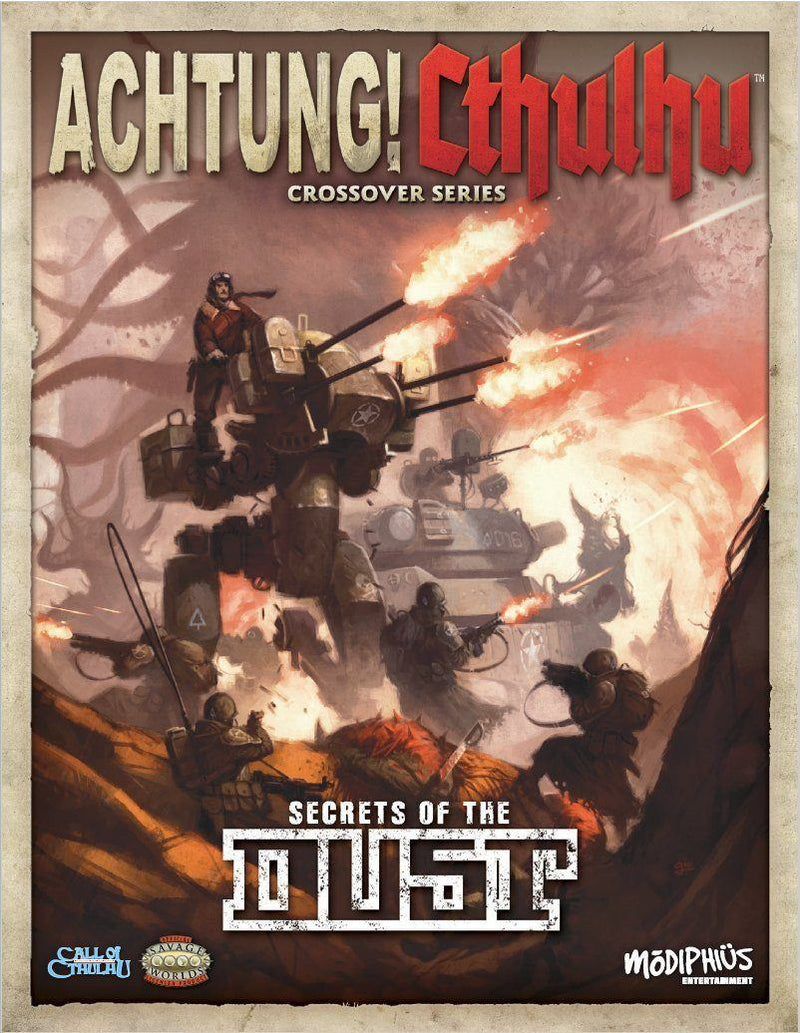 Secrets Of The Dust: Achtung Cthulhu Modiphius Entertainment, RPG Books Beanie Games
