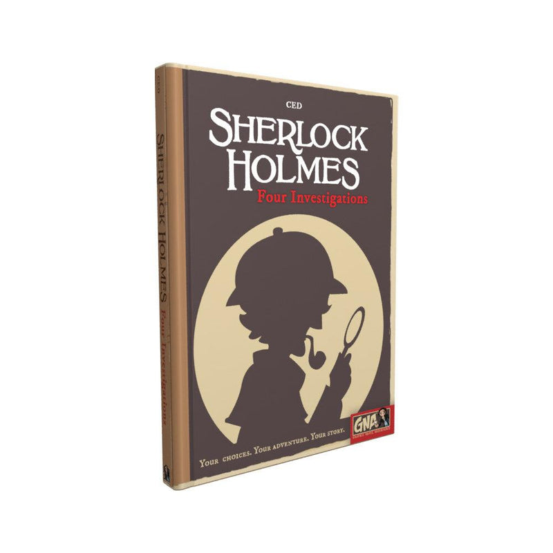 Sherlock Holmes: Four Investigations Blue Orange, Board Games Beanie Games