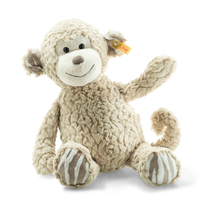 Soft Cuddly Friends Bingo Monkey 39cm Steiff, Steiff Beanie Games