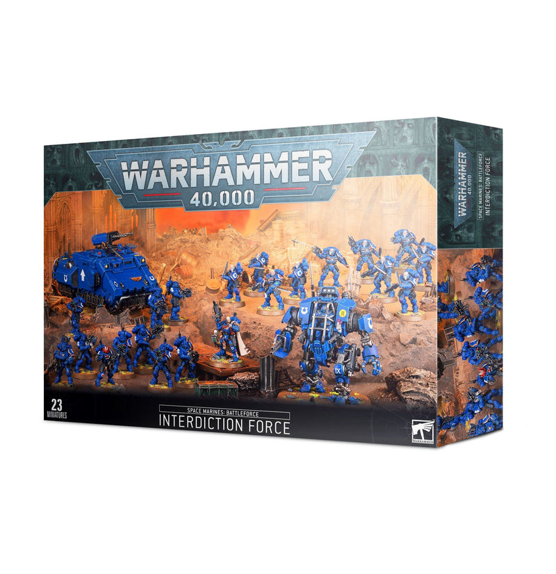 Space Marines Interdiction Force Battleforce by Games Workshop - Beanie Games