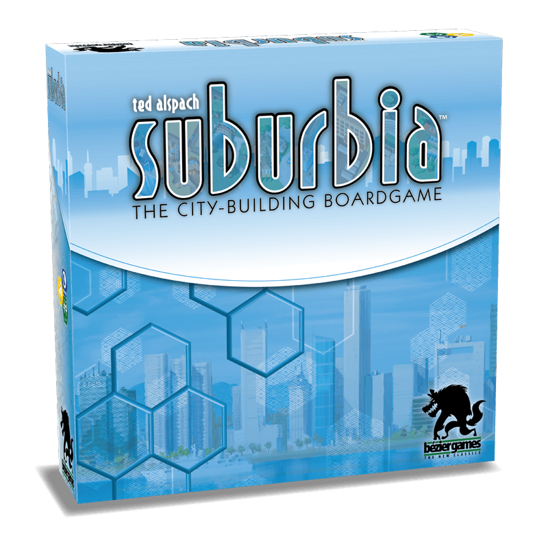 Suburbia 2nd Edition Bezier Games, Board Games Beanie Games