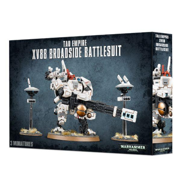 Tau Empire Xv88 Broadside Battlesuit Games Workshop, Games Workshop Beanie Games