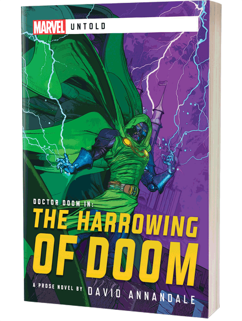 The Harrowing Of Doom: Marvel Untold Aconyte Books, Books Beanie Games
