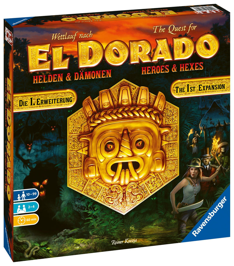 The Quest for El Dorado Heroes & Hexes Expansion by Ravensburger - Beanie Games