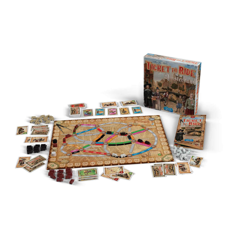 Ticket to Ride: Amsterdam Days Of Wonder, Board Games Beanie Games