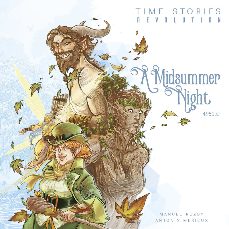 TIME Stories Revolution: A Midsummer Night Expansion Space Cowboys, Board Games Beanie Games