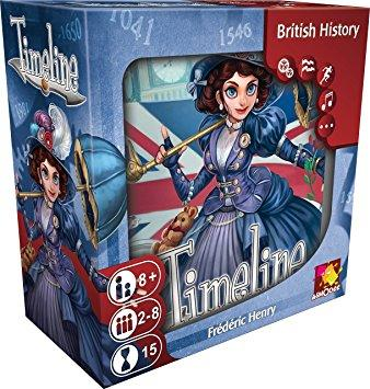 Timeline: British History Asmodee Editions, Board Games Beanie Games