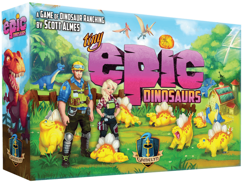 Tiny Epic Dinosaurs Gamelyn Games, Board Games Beanie Games