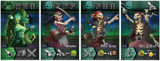 Tiny Epic Pirates: Curse of Amdiak Expansion Gamelyn Games, Board Games Beanie Games