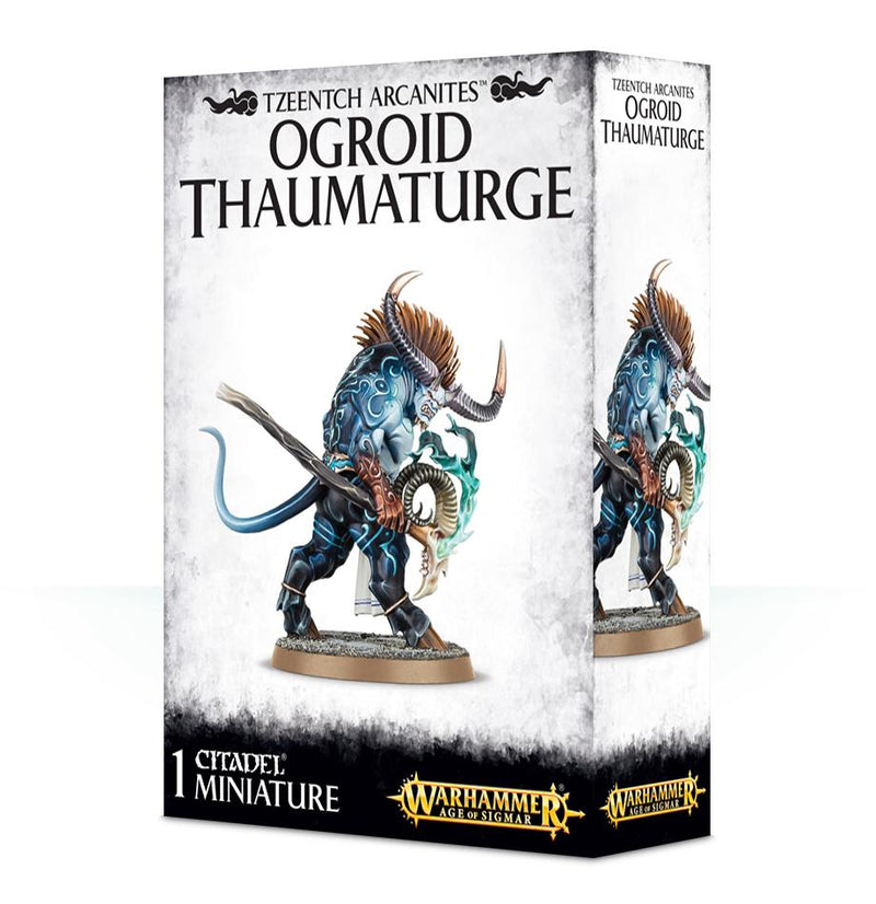 Tzeentch Arcanites Ogroid Thaumaturge Games Workshop, Games Workshop Beanie Games