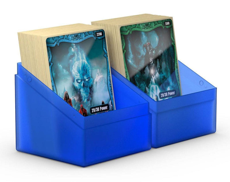 UG Sapphire Boulder Deck Case 100+ Ultimate Guard, CCG Accessories Beanie Games