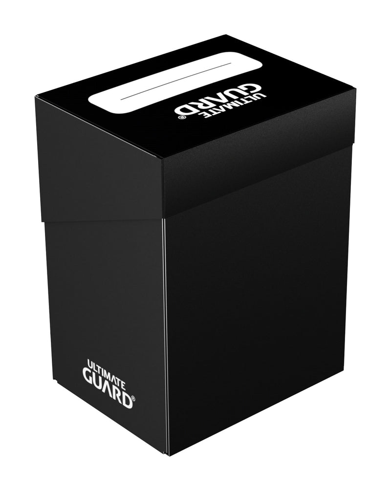 UG Standard 80+ Deck Box Black Ultimate Guard, CCG Accessories Beanie Games