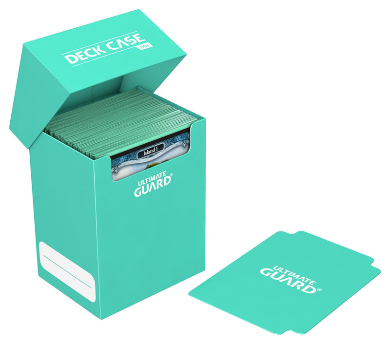 UG Standard 80+ Deck Box Turquoise Ultimate Guard, CCG Accessories Beanie Games