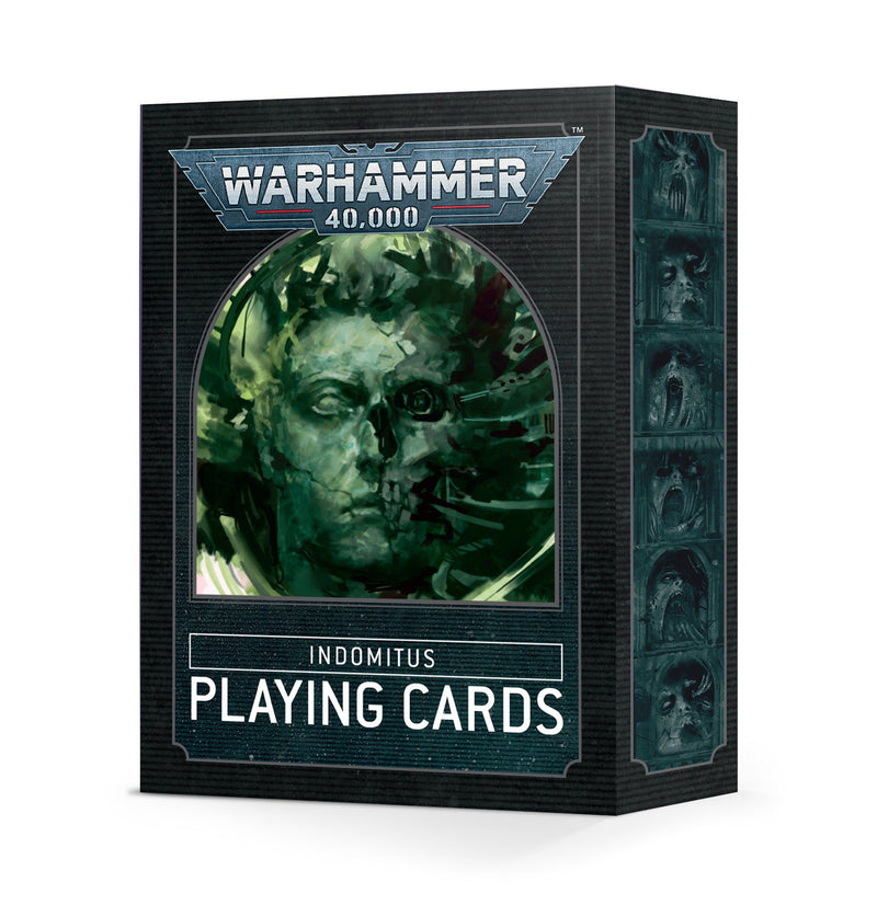 Warhammer 40K Indomitus Playing Cards Games Workshop, Games Workshop Beanie Games