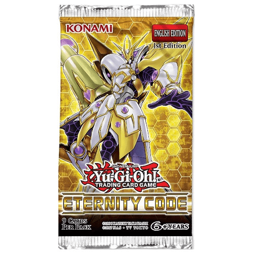 YGO Eternity Code Booster Box (24 packs) Konami, Yu-Gi-Oh Beanie Games