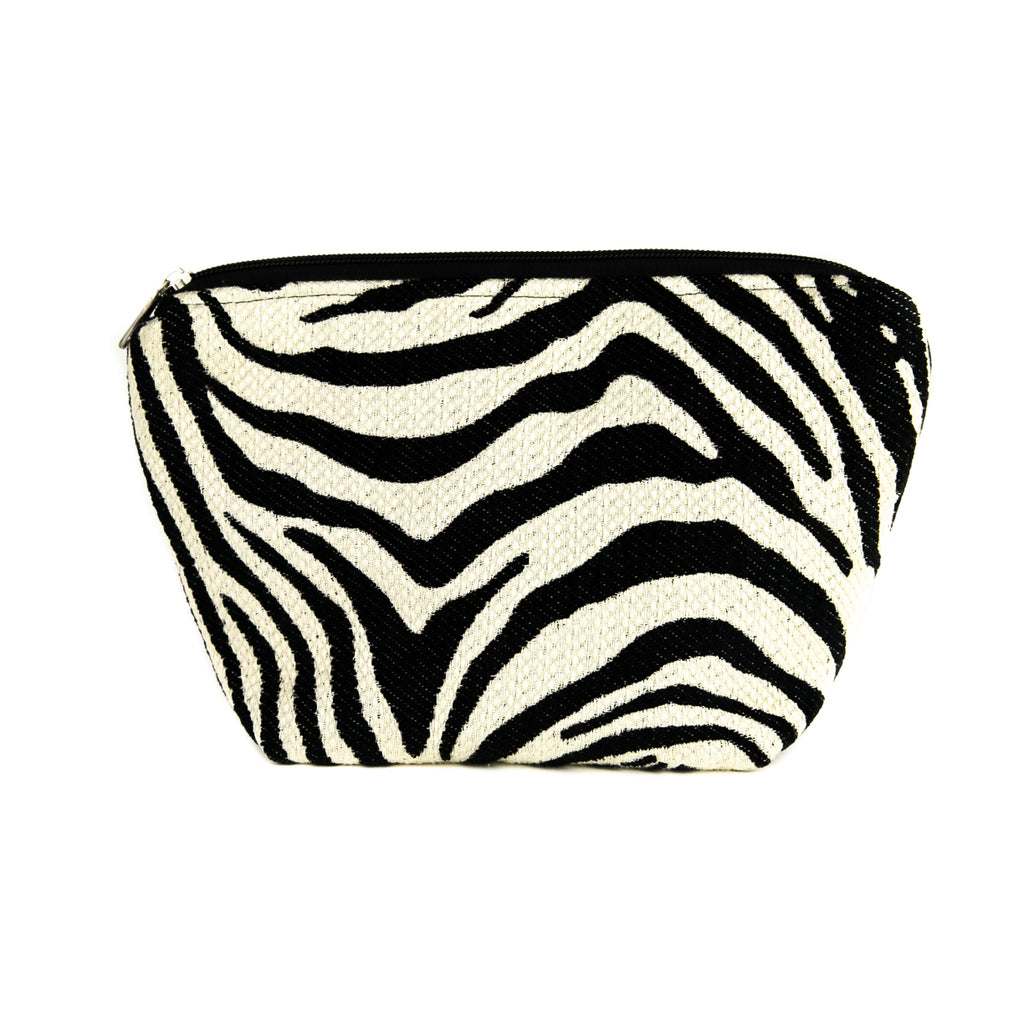 Makeup Bag - Zebra