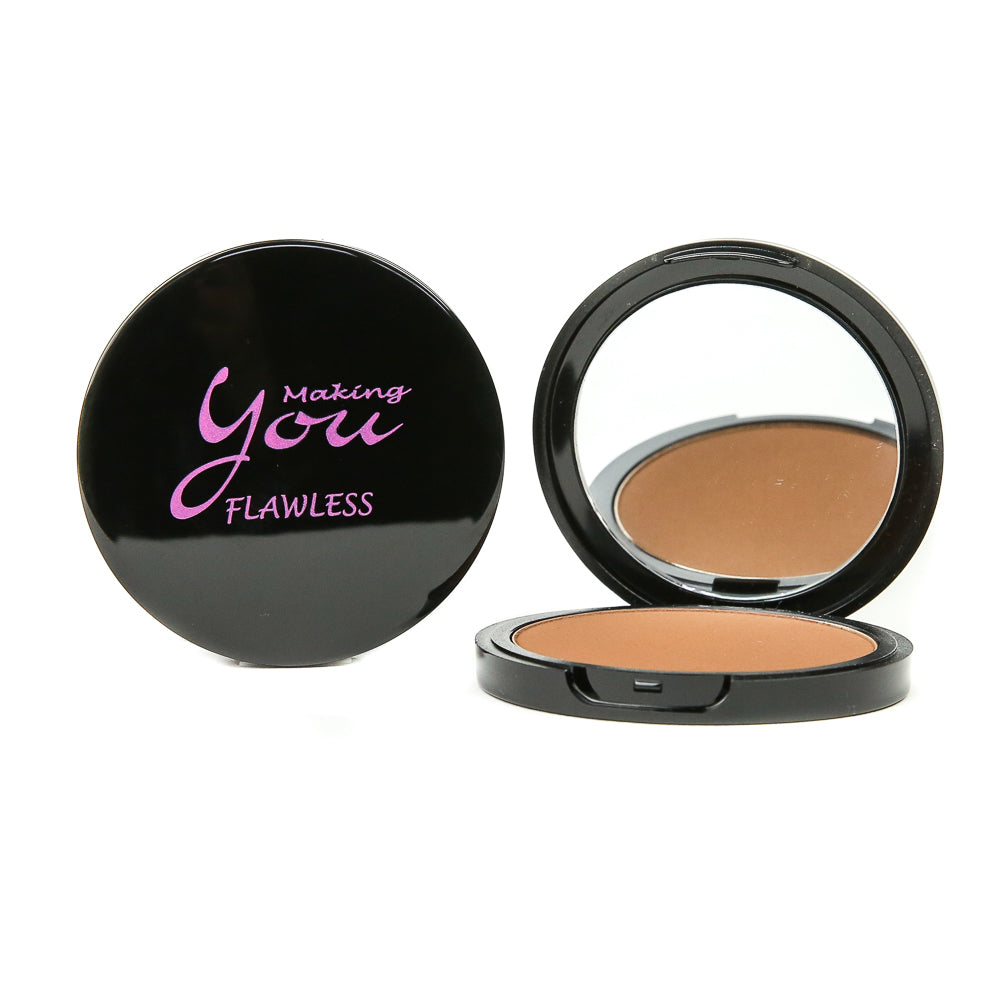 "Flawless Pressed Mineral Powder ""Chestnut"""
