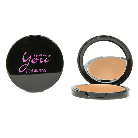 "Flawless Pressed Mineral Powder ""Chocolate"""