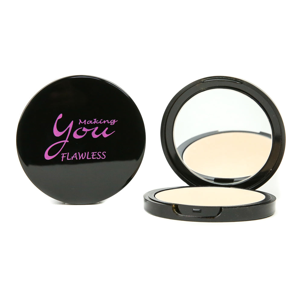 "Flawless Pressed Mineral Powder ""Medium"""