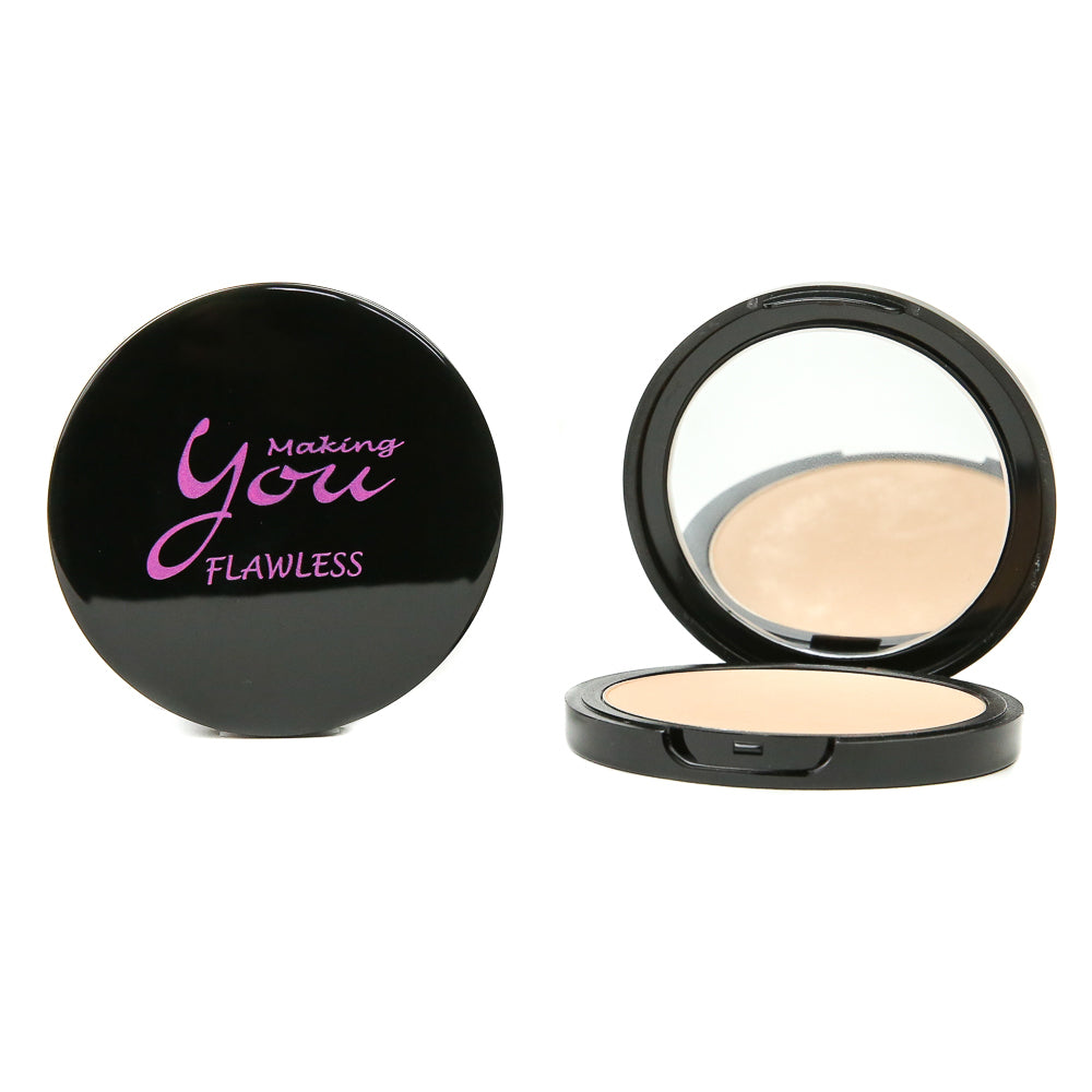 "Flawless Pressed Mineral Powder ""Soft Beige"""