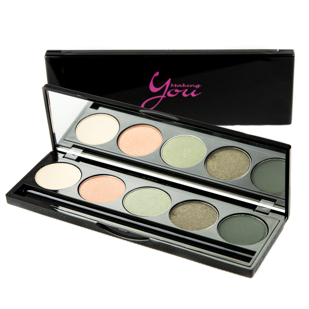 5 Well Eyeshadow Palette - The Greens