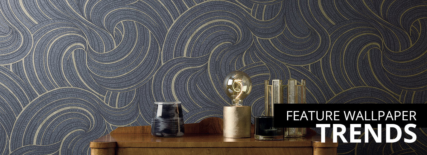 feature wall wallpaper trends