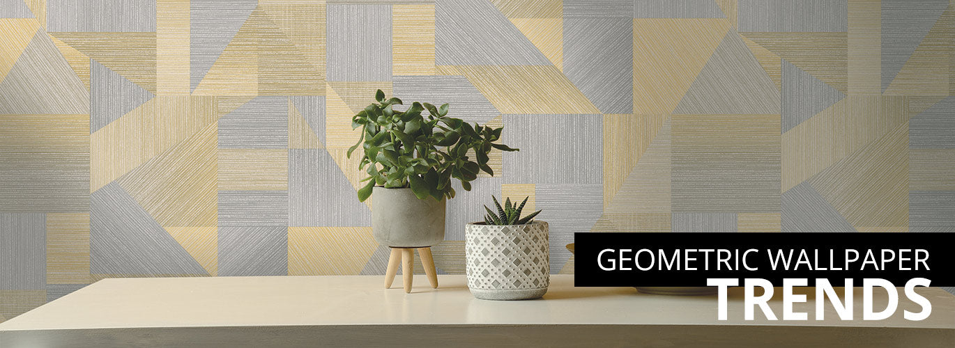geometric wallpaper trends