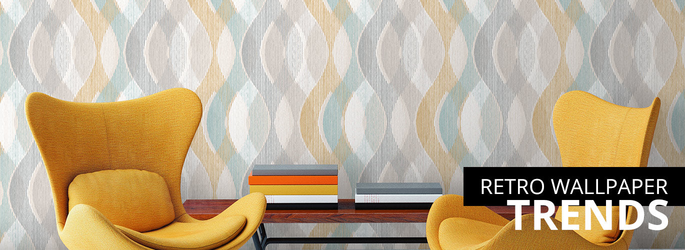 retro wallpaper trends