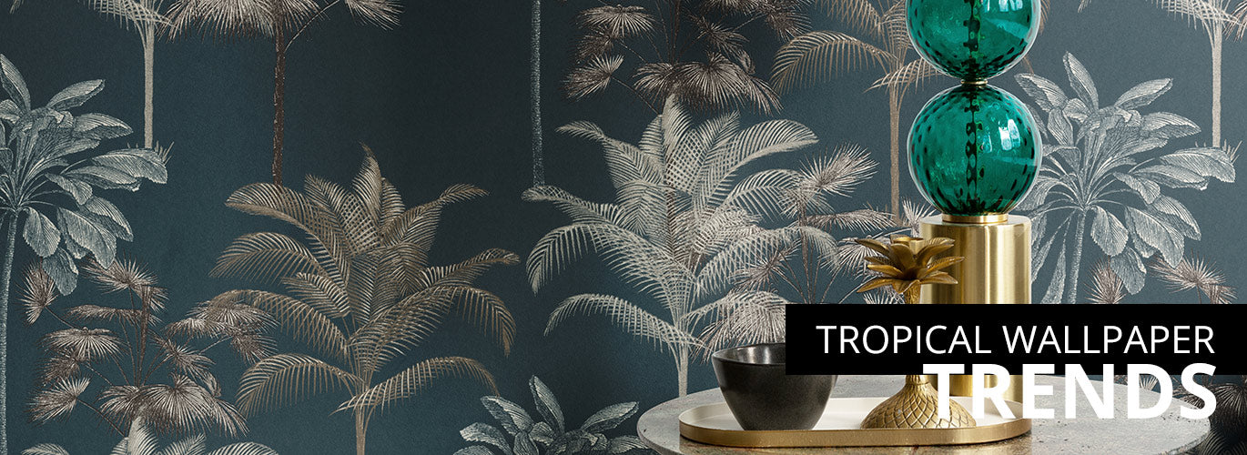 tropical wallpaper trends