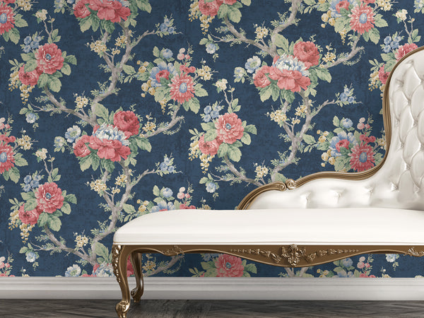 THE TOP VIBRANT FLORAL WALLPAPER FOR RESIDENTIAL DESIGN PROJECTS