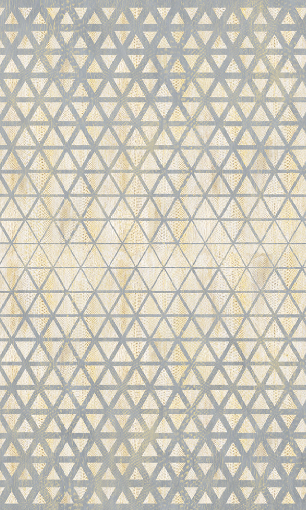 Vanilla Lime Gradient Geometric Wallpaper 014310