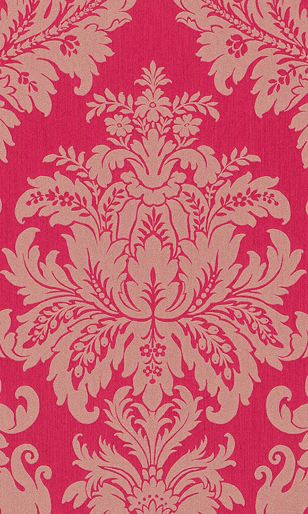 Cassata Grand Floral Damask Wallpaper 077239