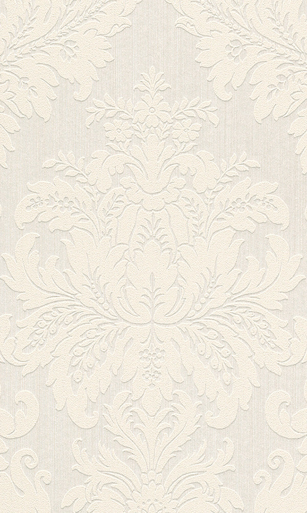 Cassata Grand Floral Damask Wallpaper 077277