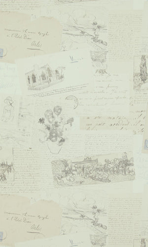 Van Gogh  Letters Wallpaper 17200