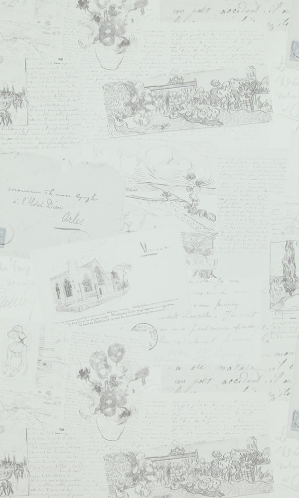 Van Gogh  Letters Wallpaper 17201