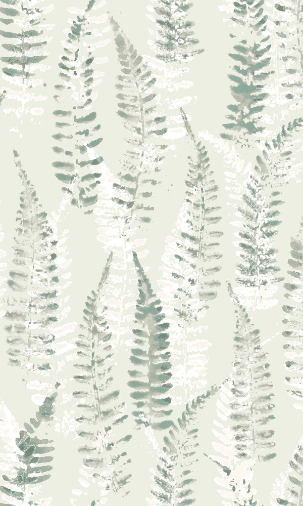 Yala Brushed Fern Wallpaper 19542