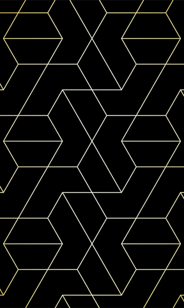 Geometric Connected Lines Wallpaper 2001035
