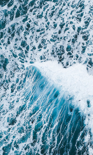 aerial view ocean wallpaper