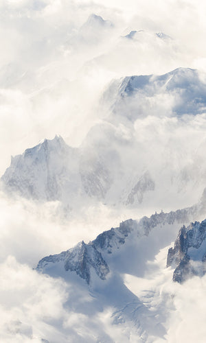 misty mountains wallpaper