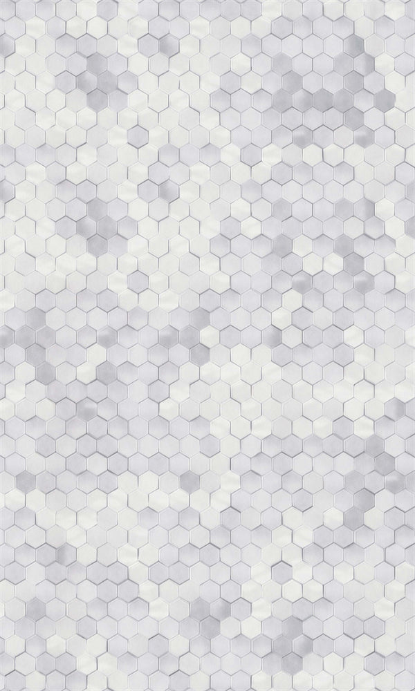 Dimension White Shimmering Mosaic Tiles 219580