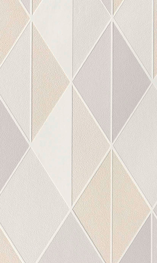 scandinavian diamonds geometric wallpaper